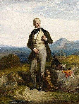 Walter Scott and Dandy Dinmont Terriers